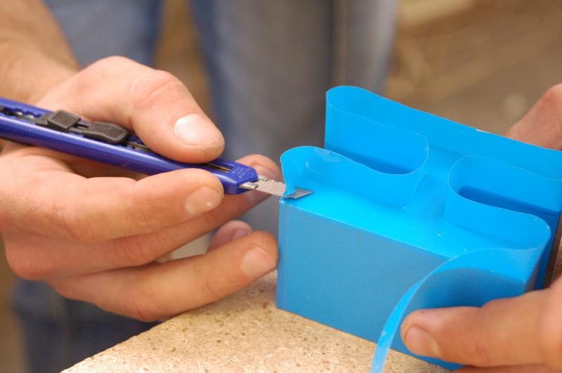 прикатка пленки на пластик