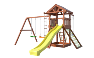 детская деревянная площадка