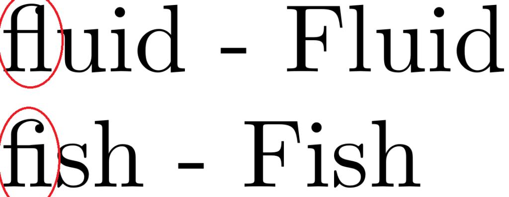 расстояние между буквами