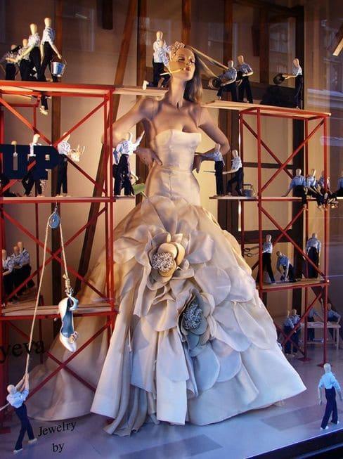 витрина свадебного салона