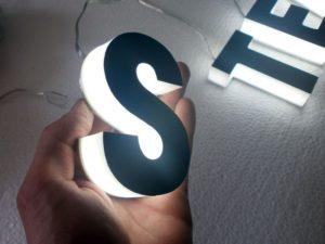 световые буквы