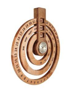 Вечный календарь из дерева от Принт Фактори