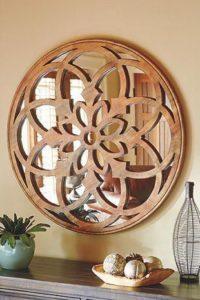Зеркало из дерева