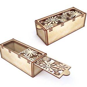 Лазерная резка коробки из дерева Принт Фактори