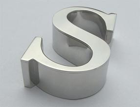 объемные буквы из композита из алюминия